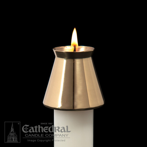 Cathedral Brass Followers | Bove & New Style | Multiple Sizes