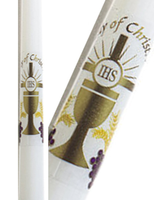 "10"" First Communion Candle"