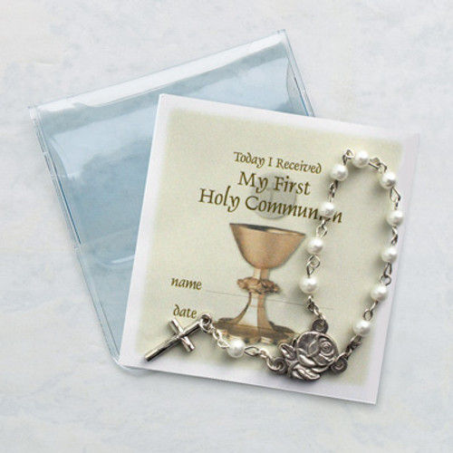 Communion Rosary Favor