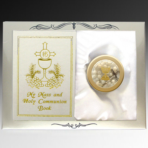 First Communion Rosary Gift Set | Girl