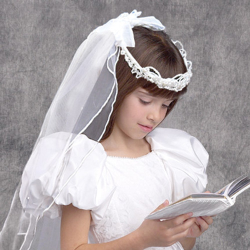 First Communion Regency Veil