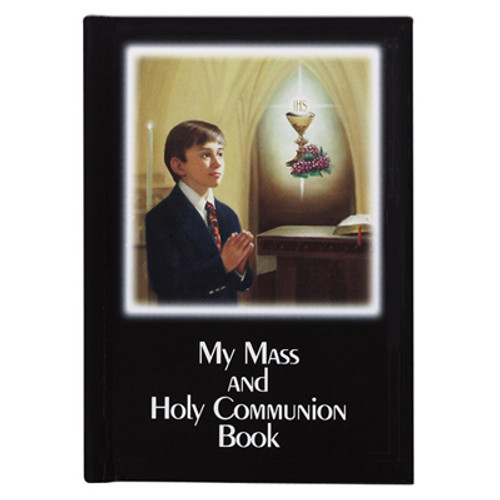 My Mass and Holy Communion Book - Laminated Color