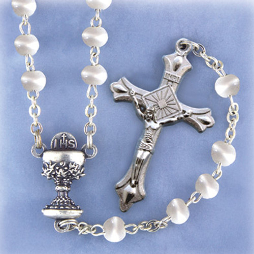 First Communion Handmade Rosary