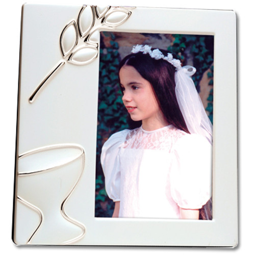 First Communion Enamel Frame
