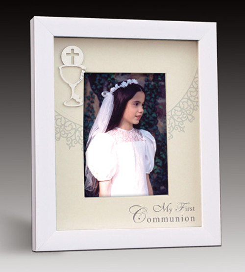 First Communion Shadowbox Picture Frame