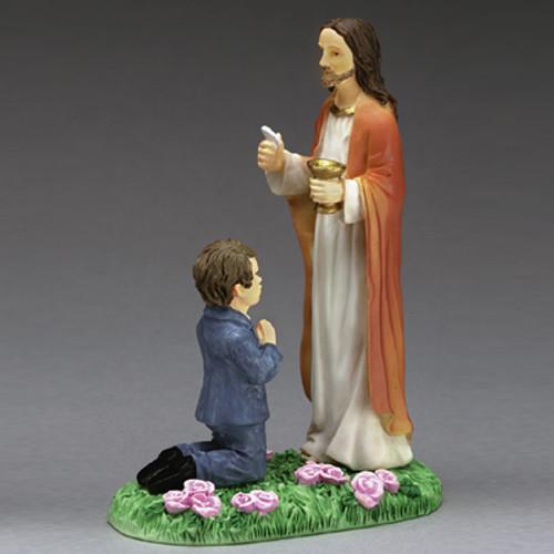 "4"" First Communion Figurine Keepsake"