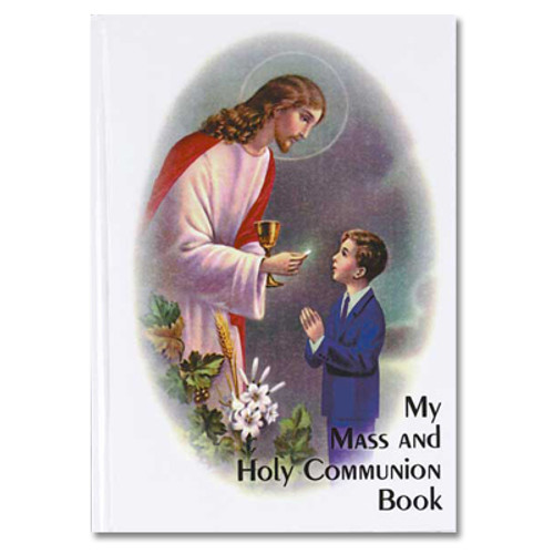 My Mass and Holy Communion Book - Traditional Edition | Boy's or Girl's