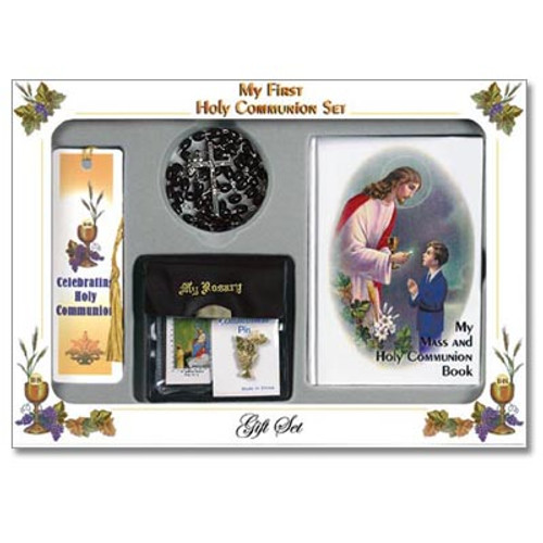 Traditional First Communion Gift Sets - Full 6 Piece