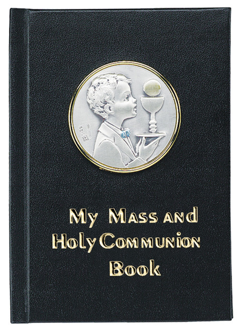 My Mass & Holy Communion Book - Sterling Silver Edition