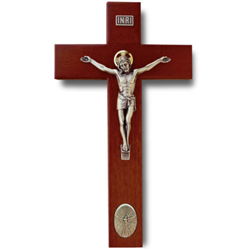"9"" Maple Crucifix w/ Rosewood Finish"