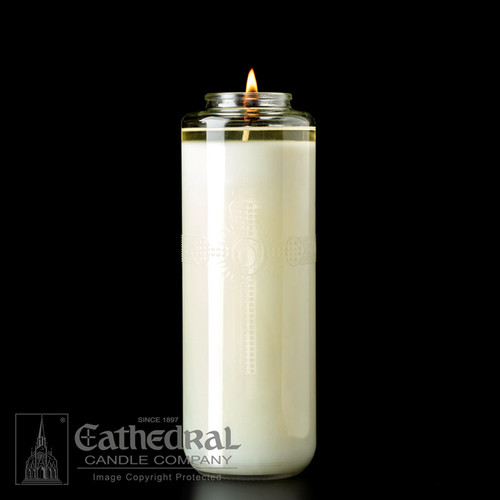 51% Beeswax Domus Christi Glass Sanctuary Candles | All Sizes & Styles