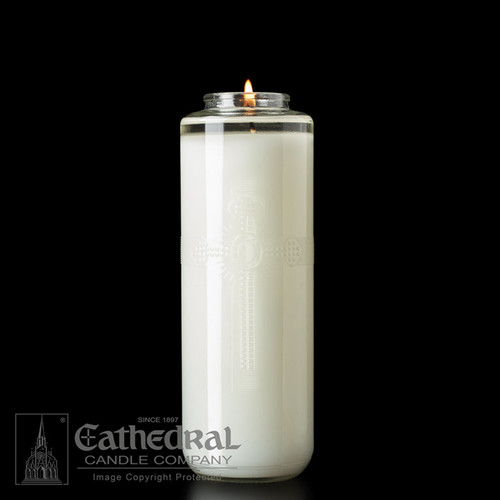 12% Beeswax Sacralux Glass Sanctuary Candles | All Styles
