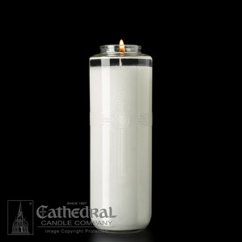 SacraLite Glass Sanctuary Candles | All Sizes & Styles