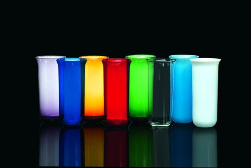 Sanctuary Light Glass Globes   7/8 Day   All Colors