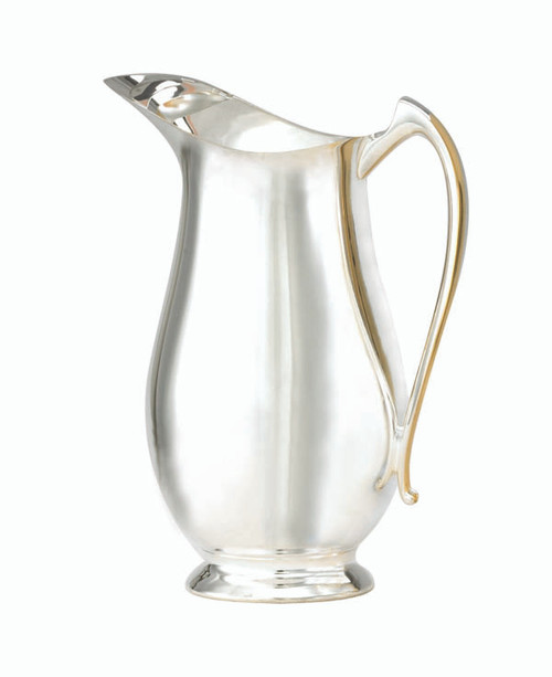 Silver Plated Open Mouth Flagon - 54oz, 10""