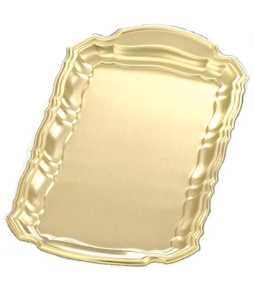 "10 1/2"" x 5 1/2"" | Brass Square Cruet Tray"