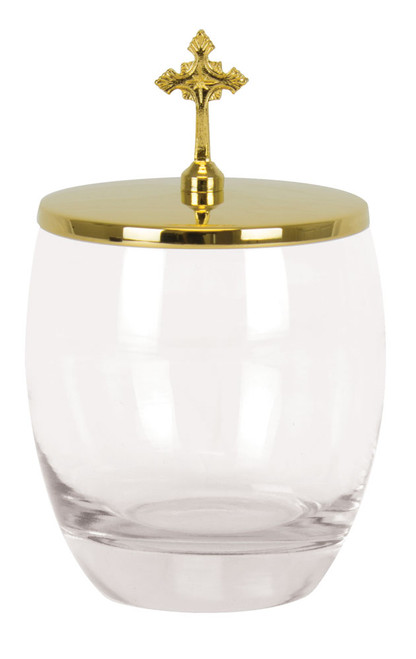 Glass Ablution Cup - 7oz, 4-5/8""