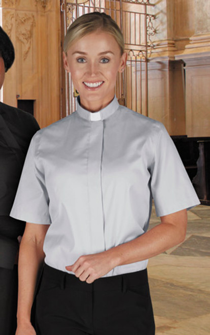 Women's Classic Clergy | Tab Collar | Short Sleeve