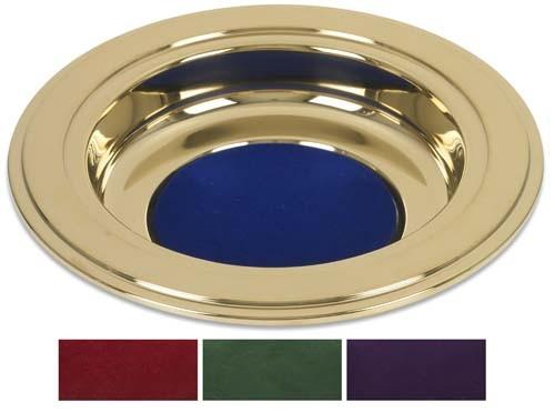 Brass Tone Offering Plate