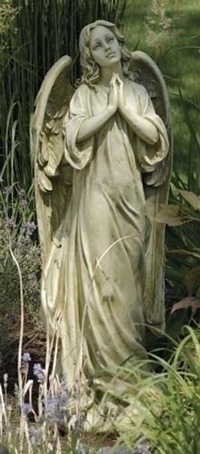 "36"" Praying Angel Garden Statue | Resin/Stone Mix"