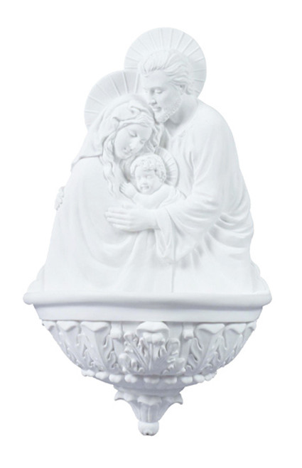 "9"" Holy Family Holy Water Font 