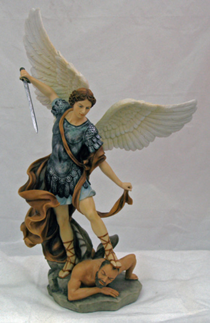 """14.5"""" St. Michael Statue 