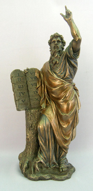 "13"" Moses Statue 