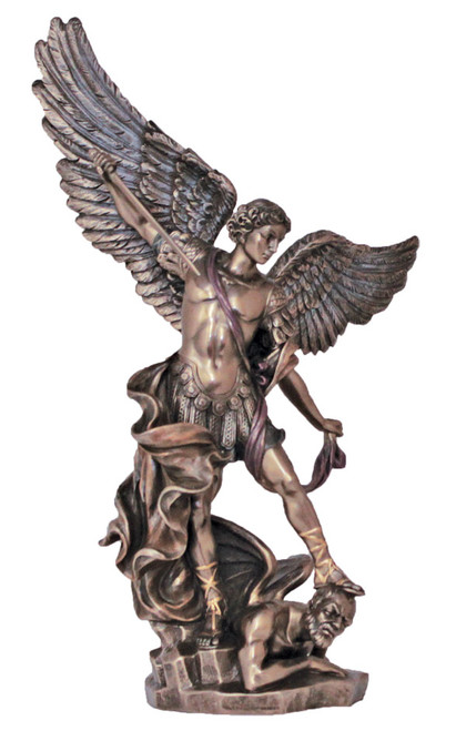 "10"" St. Michael Statue 