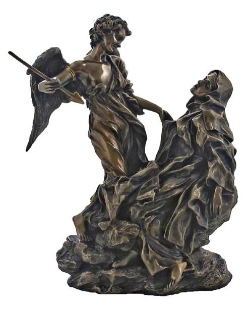 "8.5"" Ecstasy of St. Teresa of Avila - Italian Replica | Cold-Cast Bronze"