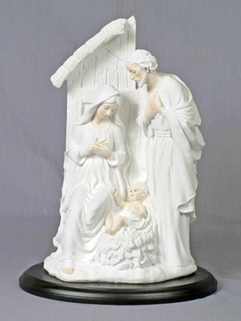 "12"" Holy Family Statue 