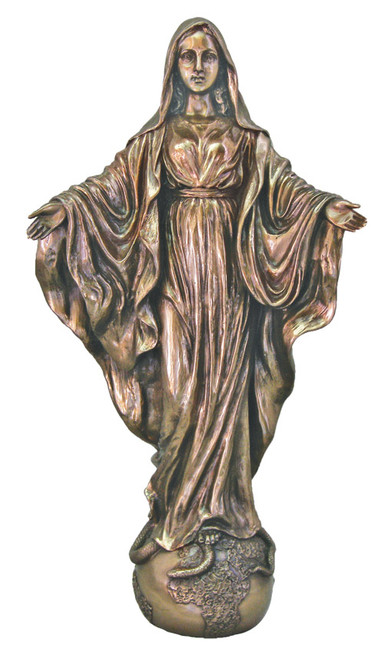 "11"" Our Lady Of The Universe Statue 