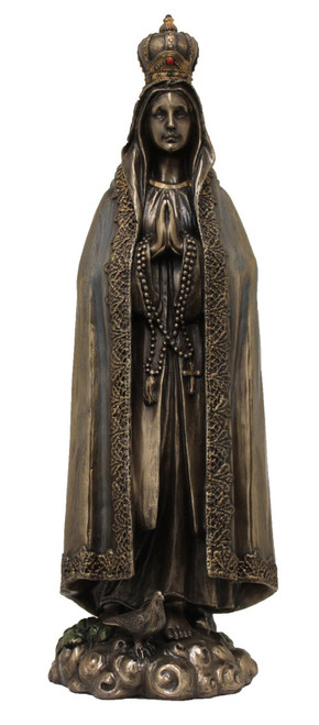"10"" Our Lady of Fatima Statue 