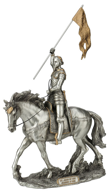 """11"""" St. Joan of Arc Statue 