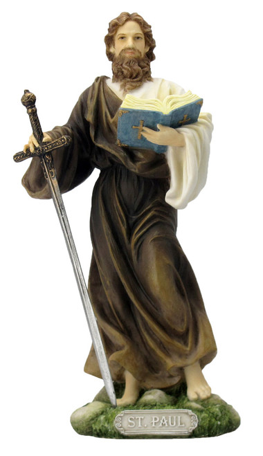 """8"""" St. Paul Statue 