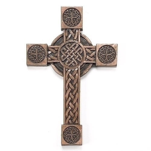 "8"" Irish Blessings Celtic Cross 