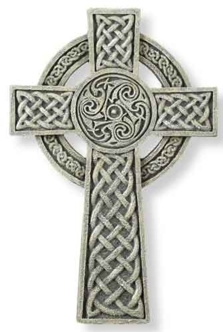 "9.5"" Celtic Wall Cross"