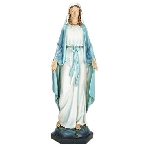 "40"" Our Lady of Grace Statue 