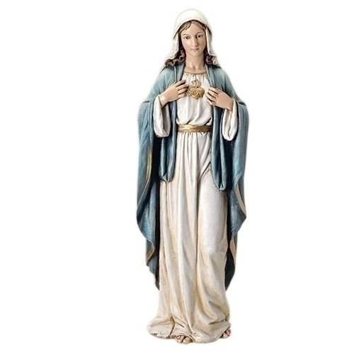 "37"" Immaculate Heart Statue 