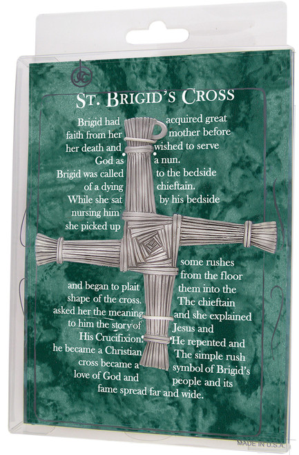 "5"" St. Brigid's Cross | Fine Pewter"