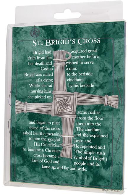 "5"" Fine Pewter St. Brigid's Cross"