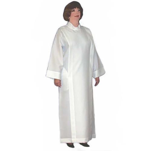 Women's Plain Alb   Lightweight Polyester/Linen Weave