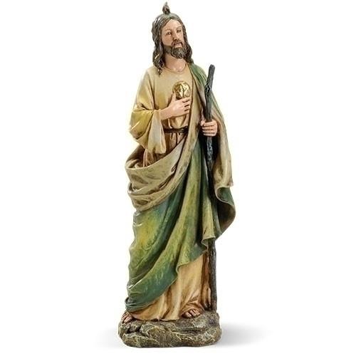 "10.5"" St. Jude Statue | Resin/Stone"