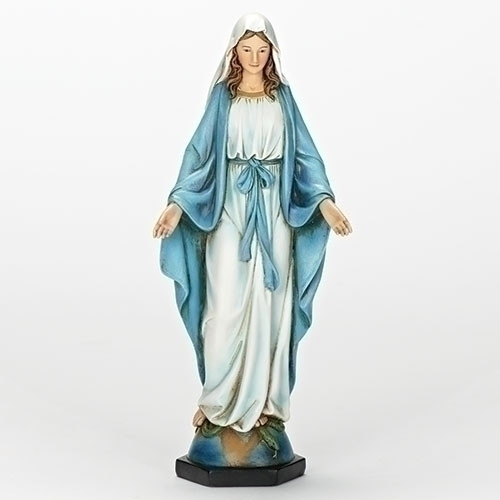 "10.25"" Our Lady Of Grace Statue 