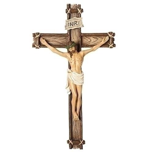 "10"" Wall Crucifix | Resin/Dolomite"