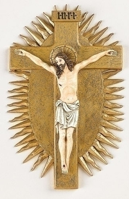 "10.5"" Gero Crucifix   Resin"
