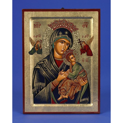 "11.5"" Lady of Perpetual Help (Virgin of the Passion) Icon 