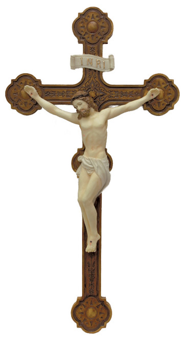 """14"""" Ornate Veronese Collection Crucifix 