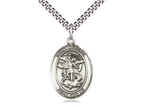 St. Michael the Archangel Medal | Create Your Own | Engrave