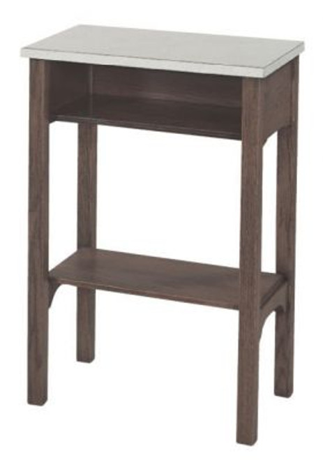 """#341 30"""" Laminate Top Credence Table 