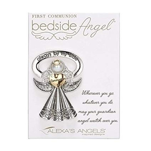 "2.5"" First Communion Bedside Angel"